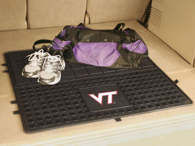 "NCAA Officially licensed Virginia Tech Heavy Duty Vinyl Cargo Mat 31""x31"" Protect your cargo with heavy duty Cargo Mats from"