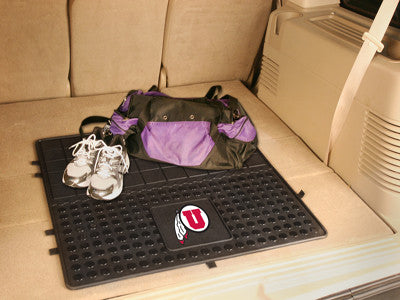 "NCAA Officially licensed University of Utah Heavy Duty Vinyl Cargo Mat 31""x31"" Protect your cargo with heavy duty Cargo Mats"