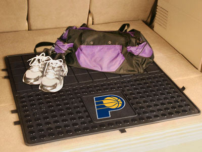 "NBA Officially licensed products Indiana Pacers Vinyl Cargo Mat 31""x31"" Protect your cargo with heavy duty Cargo Mats from S"