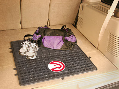 "NBA Officially licensed products Atlanta Hawks Vinyl Cargo Mat 31""x31"" Protect your cargo with heavy duty Cargo Mats from Sp"