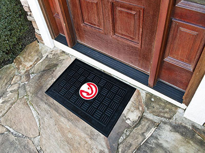"NBA Officially licensed products Atlanta Hawks Door Mat 19.5""x31.25"" Make a great first impression when guests come over wit"
