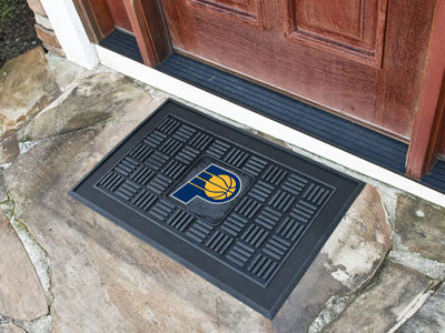"NBA Officially licensed products Indiana Pacers Door Mat 19.5""x31.25"" Make a great first impression when guests come over wi"