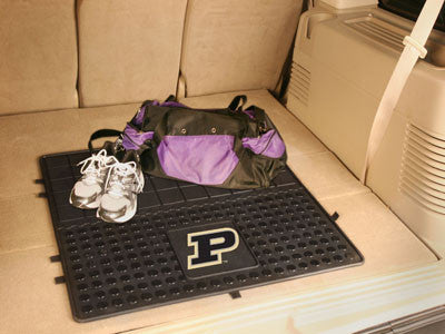 "NCAA Officially licensed Purdue University Heavy Duty Vinyl Cargo Mat 31""x31"" Protect your cargo with heavy duty Cargo Mats"