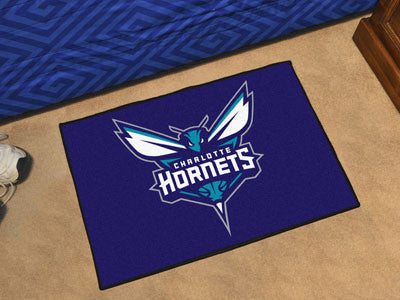 "NBA Officially licensed products Charlotte Hornets Starter Rug 19"" x 30"" Start showing off your team pride at home and the o"