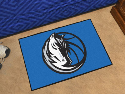 "NBA Officially licensed products Dallas Mavericks Starter Rug 19"" x 30"" Start showing off your team pride at home and the of"