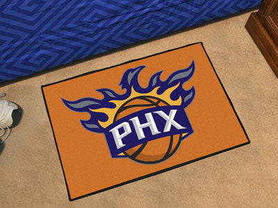 "NBA Officially licensed products Phoenix Suns Starter Rug 19"" x 30"" Start showing off your team pride at home and the office"