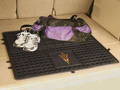 "NCAA Officially licensed Arizona State University Heavy Duty Vinyl Cargo Mat 31""x31"" Protect your cargo with heavy duty Carg"