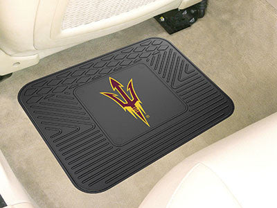 "NCAA Officially licensed Arizona State University Utility Mat 14""x17"" Boast your team colors with backseat Utility Mats by S"