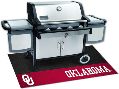 "NCAA Officially licensed University of Oklahoma Grill Mat 26""x42"" Are you a die-hard sports fan that likes to show off your"