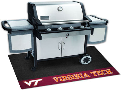 "NCAA Officially licensed Virginia Tech Grill Mat 26""x42"" Are you a die-hard sports fan that likes to show off your team prid"