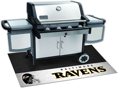 "NFL Officially licensed products Baltimore Ravens Grill Mat 26""x42"" Are you a die-hard sports fan that likes to show off you"