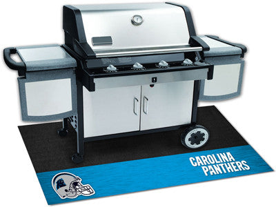 "NFL Officially licensed products Carolina Panthers Grill Mat 26""x42"" Are you a die-hard sports fan that likes to show off yo"