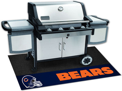 "NFL Officially licensed products Chicago Bears Grill Mat 26""x42"" Are you a die-hard sports fan that likes to show off your t"