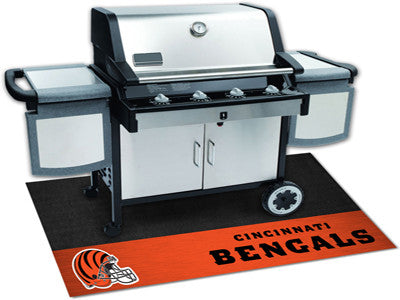 "NFL Officially licensed products Cincinnati Bengals Grill Mat 26""x42"" Are you a die-hard sports fan that likes to show off y"