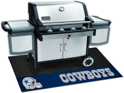 "NFL Officially licensed products Dallas Cowboys Grill Mat 26""x42"" Are you a die-hard sports fan that likes to show off your"