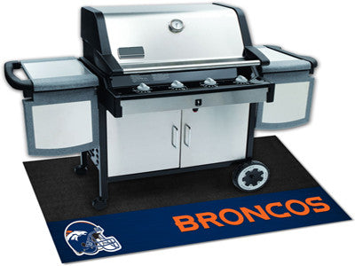 "NFL Officially licensed products Denver Broncos Grill Mat 26""x42"" Are you a die-hard sports fan that likes to show off your"