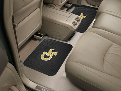 "NCAA Officially licensed Georgia Tech 2 Utility Mats 14""x17"" Boast your team colors with backseat Utility Mats by Sports Lic"