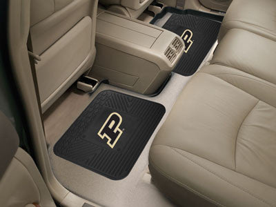 "NCAA Officially licensed Purdue University 2 Utility Mats 14""x17"" Boast your team colors with backseat Utility Mats by Sport"