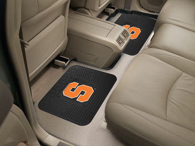 "NCAA Officially licensed Syracuse University 2 Utility Mats 14""x17"" Boast your team colors with backseat Utility Mats by Spo"