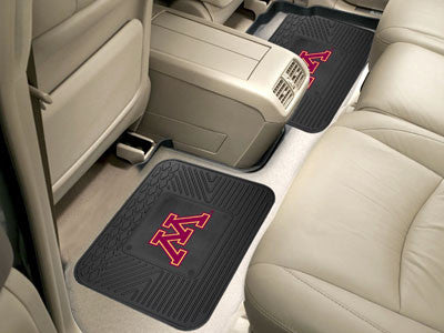 "NCAA Officially licensed University of Minnesota 2 Utility Mats 14""x17"" Boast your team colors with backseat Utility Mats by"