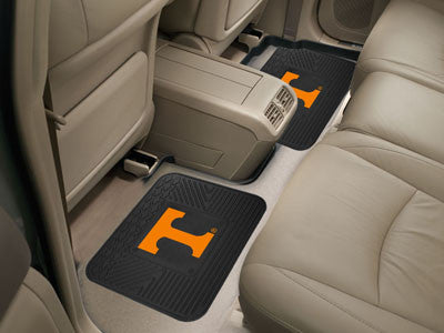 "NCAA Officially licensed University of Tennessee 2 Utility Mats 14""x17"" Boast your team colors with backseat Utility Mats by"