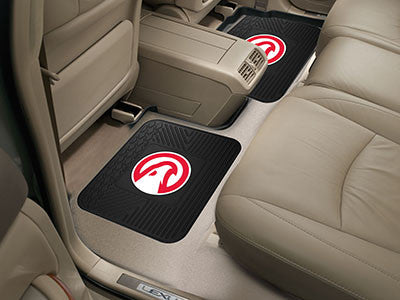 "NBA Officially licensed products Atlanta Hawks 2-pc Utility Mat 14""x17"" Boast your team colors with backseat Utility Mats by"