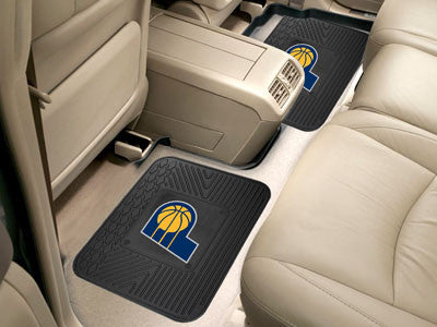 "NBA Officially licensed products Indiana Pacers 2-pc Utility Mat 14""x17"" Boast your team colors with backseat Utility Mats b"