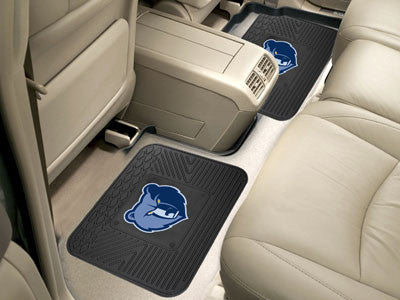 "NBA Officially licensed products Memphis Grizzlies 2-pc Utility Mat 14""x17"" Boast your team colors with backseat Utility Mat"