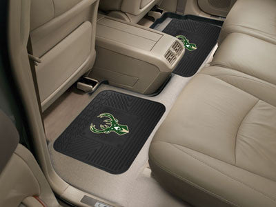 "NBA Officially licensed products Milwaukee Bucks 2-pc Utility Mat 14""x17"" Boast your team colors with backseat Utility Mats"
