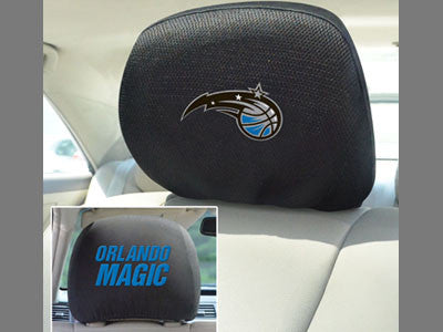 "NBA Officially licensed products Orlando magic Head Rest Cover 10""x13"" Show off your team pride and protect your vehicles he"