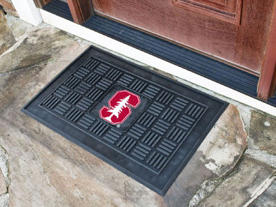 "NCAA Officially licensed Stanford University Medallion Door Mat 19.5""x31.25"" Make a great first impression when guests come"