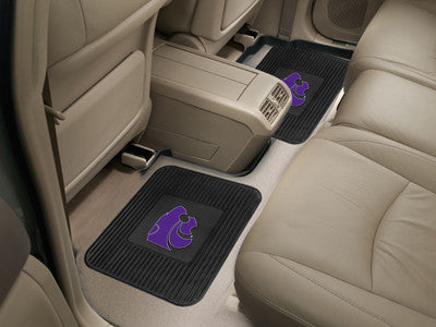 "NCAA Officially licensed Kansas State University 2 Utility Mats 14""x17"" Boast your team colors with backseat Utility Mats by"