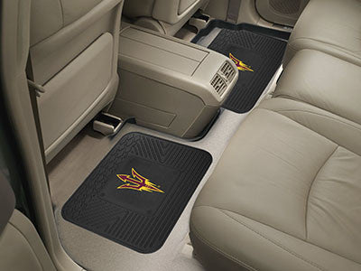 "NCAA Officially licensed Arizona State University 2 Utility Mats 14""x17"" Boast your team colors with backseat Utility Mats b"