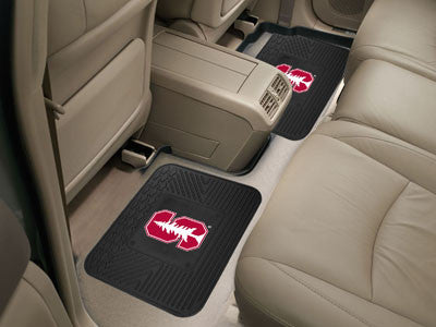 "NCAA Officially licensed Stanford University 2 Utility Mats 14""x17"" Boast your team colors with backseat Utility Mats by Spo"