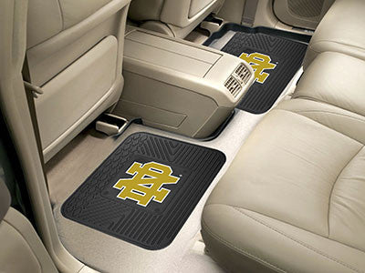 "NCAA Officially licensed Notre Dame 2 Utility Mats 14""x17"" Boast your team colors with backseat Utility Mats by Sports Licen"