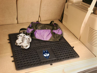"NCAA Officially licensed University of Connecticut Heavy Duty Vinyl Cargo Mat 31""x31"" Protect your cargo with heavy duty Car"