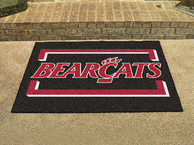 "NCAA Officially licensed University of Cincinnati All Star Mat 33.75""x42.5"" Join the All-Star team and decorate your home or"