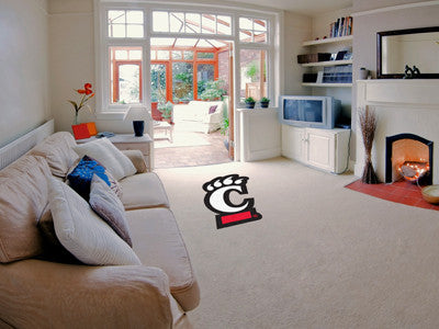 "NCAA Officially licensed University of Cincinnati Mascot Mat 27.7"" x 40"" Looking for a unique rug to decorate your home or o"