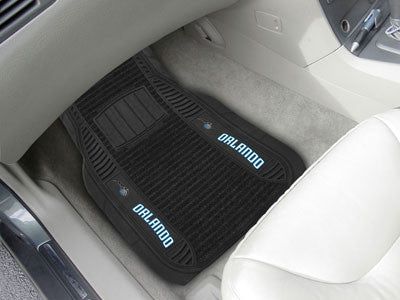 "NBA Officially licensed products Orlando Magic Deluxe Mat 21""x27"" Deluxe Car Mats are perfect for anyone who is serious abou"