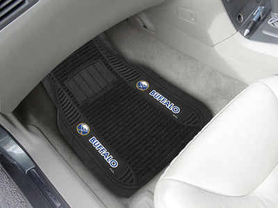 "NHL Officially licensed products Buffalo Sabres Deluxe Mat 21""x27"" Deluxe Car Mats are perfect for anyone who is serious abo"
