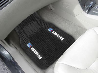 "NHL Officially licensed products New York Rangers Deluxe Mat 21""x27"" Deluxe Car Mats are perfect for anyone who is serious a"