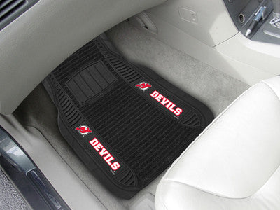 "NHL Officially licensed products New Jersey Devils Deluxe Mat 21""x27"" Deluxe Car Mats are perfect for anyone who is serious"