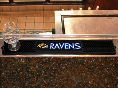 "NFL Officially licensed products Baltimore Ravens Drink Mat 3.25""x24"" Keep your freshly crafted drinks safe with our new off"