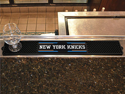 "NBA Officially licensed products New York Knicks Drink Mat 3.25""x24"" Keep your freshly crafted drinks safe with our new offi"