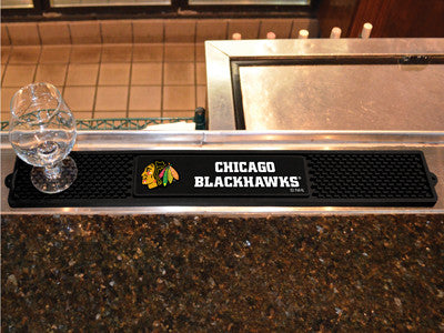 "NHL Officially licensed products Chicago Blackhawks Drink Mat 3.25""x24"" Keep your freshly crafted drinks safe with our new o"
