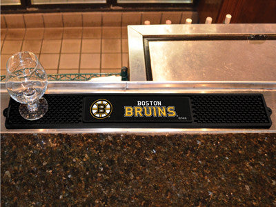 "NHL Officially licensed products Boston Bruins Drink Mat 3.25""x24"" Keep your freshly crafted drinks safe with our new offici"
