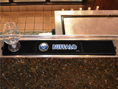 "NHL Officially licensed products Buffalo Sabres Drink Mat 3.25""x24"" Keep your freshly crafted drinks safe with our new offic"