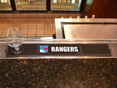 "NHL Officially licensed products New York Rangers Drink Mat 3.25""x24"" Keep your freshly crafted drinks safe with our new off"