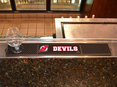 "NHL Officially licensed products New Jersey Devils Drink Mat 3.25""x24"" Keep your freshly crafted drinks safe with our new of"