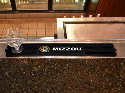 "NCAA Officially licensed University of Missouri Drink Mat 3.25""x24"" Keep your freshly crafted drinks safe with our new offic"